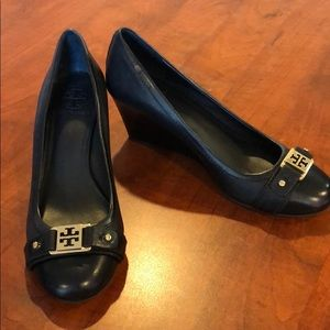 Tory Burch Black Ambrose Closed Toe Shoes